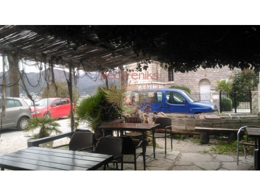 Urbanized plot on the first line, in Tivat, Montenegro.