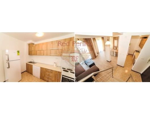 Budva'da iki katlı daire, Montenegro da satılık emlak, Becici da satılık ev, Becici da satılık emlak