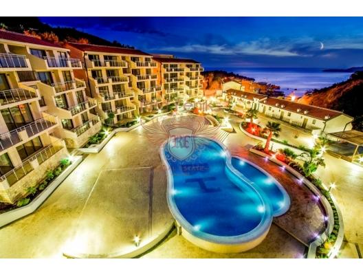 Przno'da bir yatak odalı daire, Montenegro da satılık emlak, Becici da satılık ev, Becici da satılık emlak