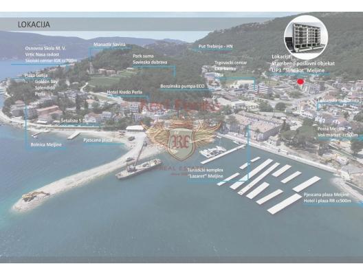Herceg Novi' de Yeni Binada Daireler, Baosici da satılık evler, Baosici satılık daire, Baosici satılık daireler