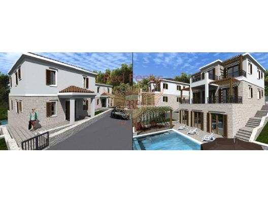 Blizikuce'de villalar, Becici satılık müstakil ev, Becici satılık müstakil ev, Region Budva satılık villa