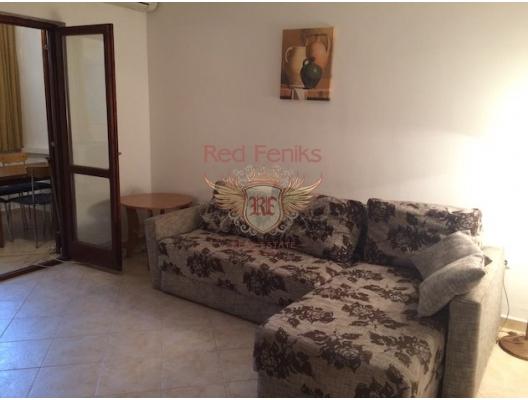 Rafailovovici'de Tek Yatak Odalı Daire 1+1, Montenegro da satılık emlak, Becici da satılık ev, Becici da satılık emlak