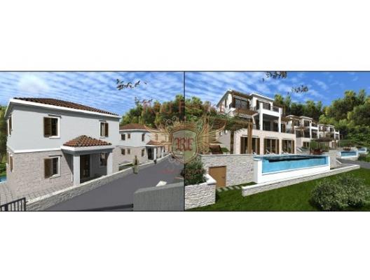 Blizikuce'de villalar, Region Budva satılık müstakil ev, Region Budva satılık müstakil ev