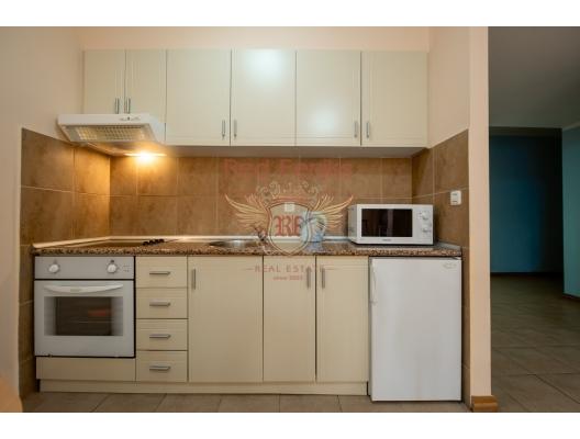 Becici'de tek yatak odalı daire 1+1, Karadağ satılık evler, Karadağ da satılık daire, Karadağ da satılık daireler