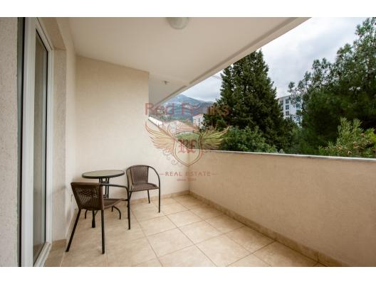 Becici'de tek yatak odalı daire 1+1, Region Budva da satılık evler, Region Budva satılık daire, Region Budva satılık daireler