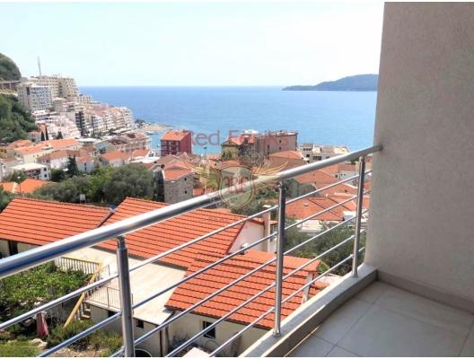 Two Bedroom Apartment with Beautiful Sea View in Rafailovici, Montenegro real estate, property in Montenegro, flats in Region Budva, apartments in Region Budva
