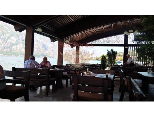 Cozy Restaurant On the Kotor Bay, Kotor da Satılık Hotel, Karadağ da satılık otel, karadağ da satılık oteller