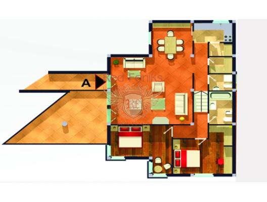 Krasici'de su kenarinda daire, Krasici da ev fiyatları, Krasici satılık ev fiyatları, Krasici da ev almak