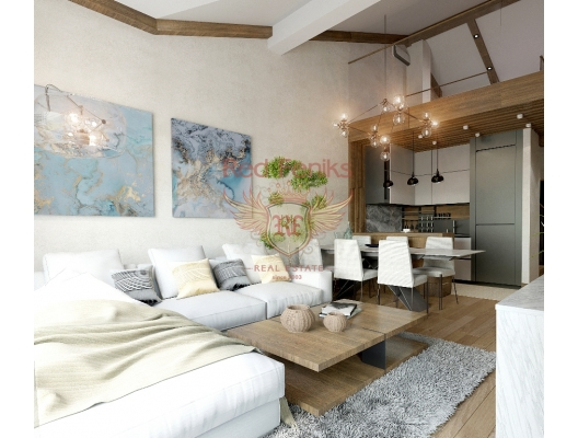 For sale large apartment on the 3rd floor 171m2 (108m2 + 63m2 gallery) + parking place.