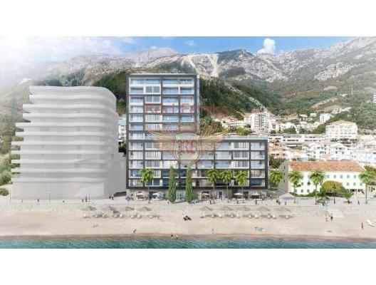 New Residential Complex on the First Line, Becici da ev fiyatları, Becici satılık ev fiyatları, Becici da ev almak