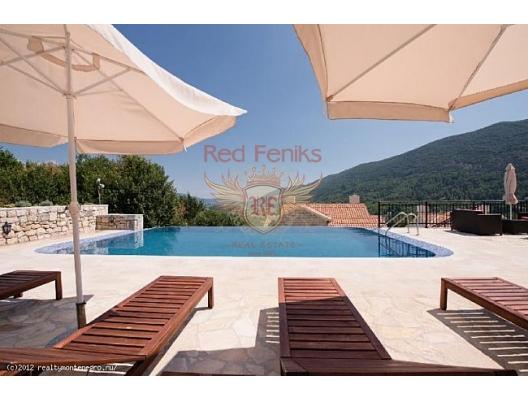 VIllas in complex Lucici SOLD, buy home in Montenegro, buy villa in Herceg Novi, villa near the sea Baosici