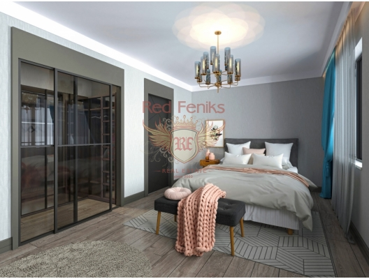 St Stephen yeni bir konut kompleksi içinde satılık iki yatak odalı daireler, Becici da satılık evler, Becici satılık daire, Becici satılık daireler