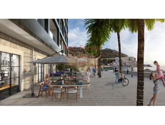 New Residential Complex on the First Line, Becici da satılık evler, Becici satılık daire, Becici satılık daireler