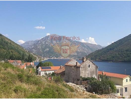 Panoramic plot on the first line in Kamenari, plot in Montenegro for sale, buy plot in Herceg Novi, building plot in Montenegro