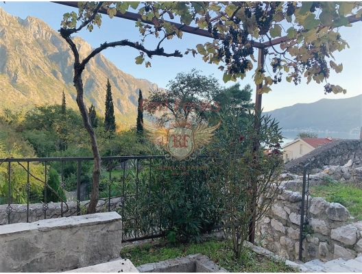Stone house with pool and stunning sea views in the Bay of Kotor, Montenegro real estate, property in Montenegro, Kotor-Bay house sale