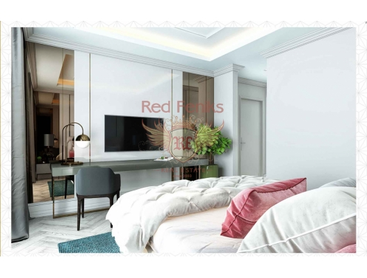 New Luxury Hotel Residential Complex in Budva, investment with a guaranteed rental income, serviced apartments for sale