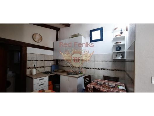 Glavaticichi, Kotor topluluğu, Lustitsa köyündeki rahat taş mustakil ev, Lustica Peninsula satılık müstakil ev, Lustica Peninsula satılık müstakil ev