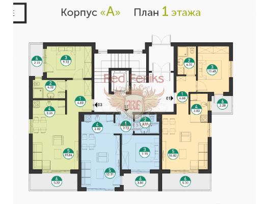 Przno'da kompleks, Region Budva da satılık evler, Region Budva satılık daire, Region Budva satılık daireler