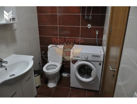 Becici'de İki Yatak Odalı Daire 2+1, Karadağ satılık evler, Karadağ da satılık daire, Karadağ da satılık daireler