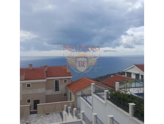 Panaromik Deniz Manzaralı Lüks Villa, Becici satılık müstakil ev, Becici satılık müstakil ev, Region Budva satılık villa