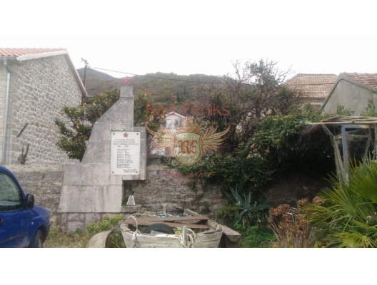Urbanized Plot on the First Line, plot in Montenegro for sale, buy plot in Region Tivat, building plot in Montenegro