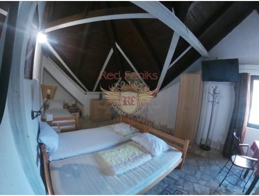 Kıyı Şeridinde Mini Hotel, Karadağ da satılık işyeri, Karadağ da satılık işyerleri, Budva da Satılık Hotel