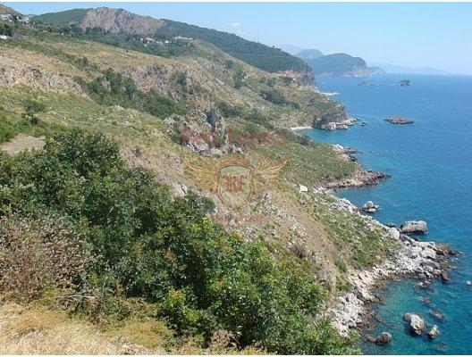 Beautiful plot near St.Stefan, Montenegro real estate, property in Montenegro, buy land in Montenegro