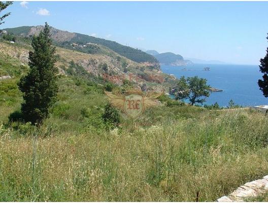 Beautiful plot near St.Stefan, building land in Region Budva, land for sale in Becici Montenegro