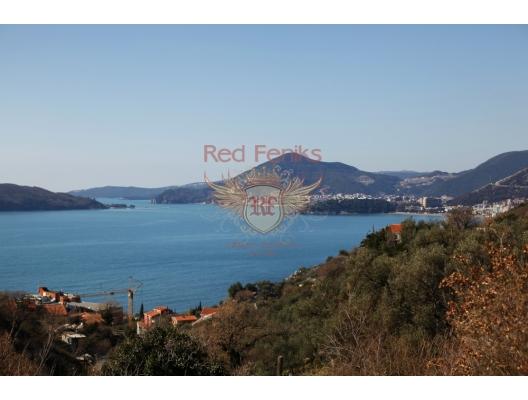 Przno, Budva Riviera, Karadağ satılık arsa.