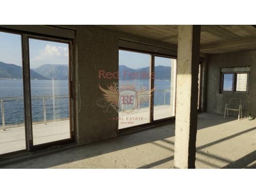 New Villa on the First Line. Krasici, Lustica Peninsula satılık müstakil ev, Lustica Peninsula satılık müstakil ev