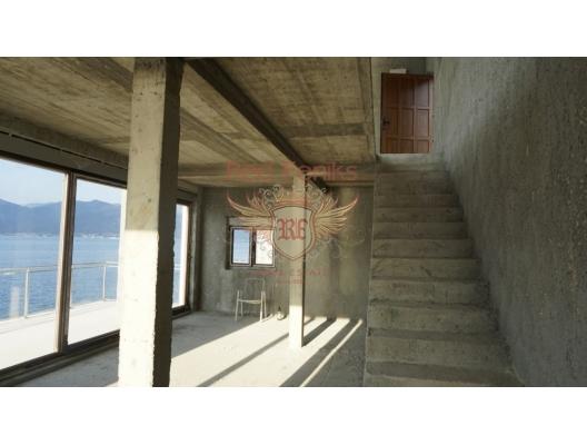 New Villa on the First Line. Krasici, Lustica Peninsula satılık müstakil ev, Lustica Peninsula satılık villa