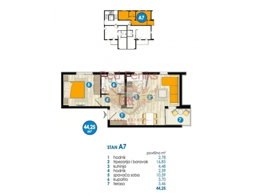 Budva'da Yeni Kompleks, Becici dan ev almak, Region Budva da satılık ev, Region Budva da satılık emlak