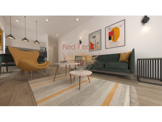 One bedroom apartments in a new panoramic complex in Becici, apartments in Montenegro, apartments with high rental potential in Montenegro buy, apartments in Montenegro buy