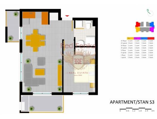 Uljcin'de yeni kompleks, Montenegro da satılık emlak, Bar da satılık ev, Bar da satılık emlak