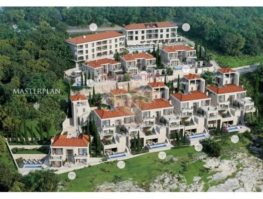 Luxury New Condo and Villas in Montenegro