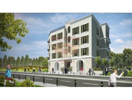 Porto Karadağ kompleksinde yeni bir binada daire, Montenegro da satılık emlak, Bigova da satılık ev, Bigova da satılık emlak