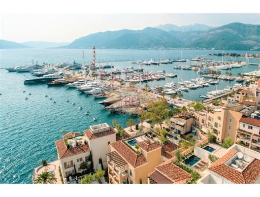 Apartment in a new building in the Porto Montenegro complex, Montenegro real estate, property in Montenegro, flats in Region Tivat, apartments in Region Tivat