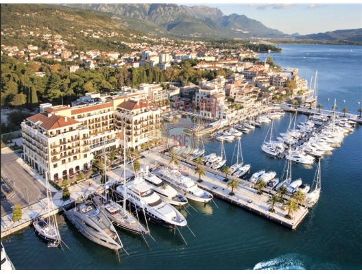 Apartment in a new building in the Porto Montenegro complex, hotel residences for sale in Montenegro, hotel apartment for sale in Region Tivat
