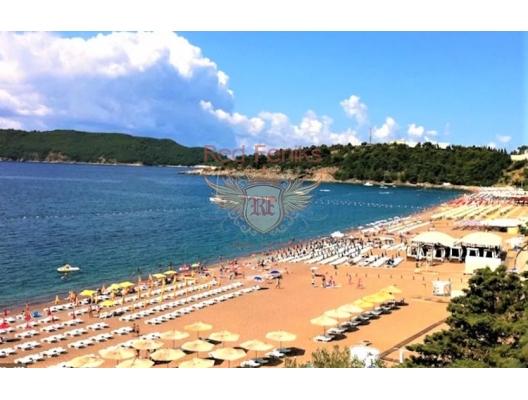 Hotel Apartment in einem Luxuskomplex an einem Sandstrand in Becici, Wohnungen in Montenegro, Wohnungen mit hohem Mietpotential in Montenegro kaufen