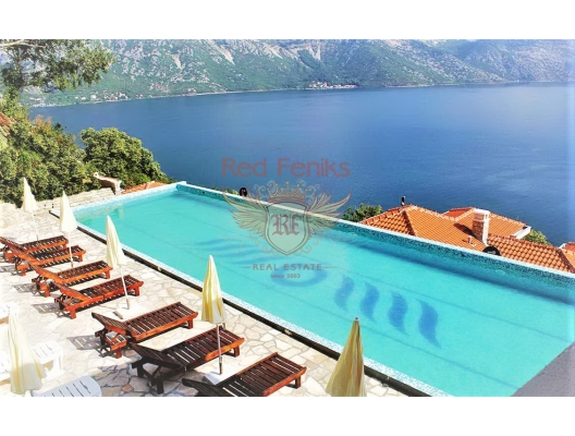 Apartments and Villas in a modern complex on the first line in Kostanica, Montenegro real estate, property in Montenegro, flats in Kotor-Bay, apartments in Kotor-Bay