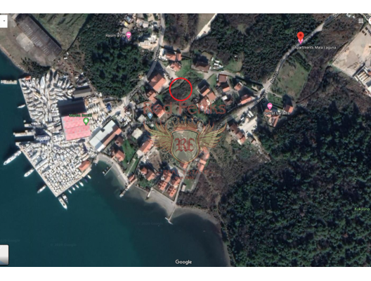 Tivat'ta Deniz Manzaralı Kentsel Arsa, Karadağ da satılık arsa, Karadağ da satılık imar arsası