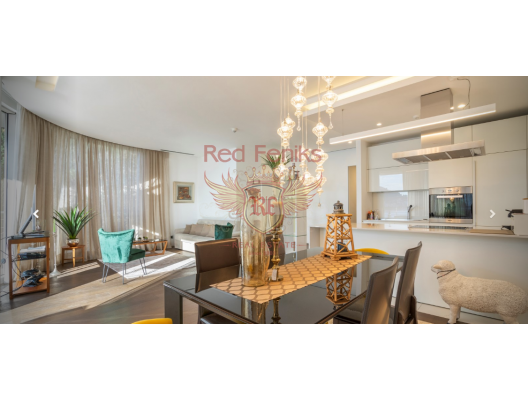 Two bedroom exclusive apartment in the luxury complex on the first line in Budva, apartment for sale in Region Budva, sale apartment in Becici, buy home in Montenegro