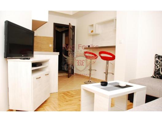 Budva'da tek yatak odalı daire 505, Karadağ satılık evler, Karadağ da satılık daire, Karadağ da satılık daireler