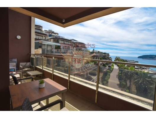 Seafront 2 Bedroom Apartment in Luxury Condo, Budva, hotel in Montenegro for sale, hotel concept apartment for sale in Becici