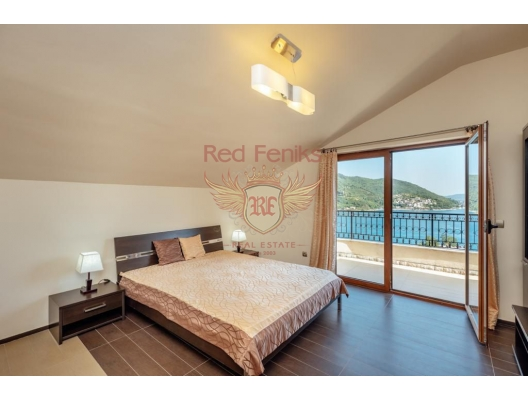 Mini-hotel in the Bay of Kotor, hotel in Montenegro for sale, hotel concept apartment for sale in Baosici