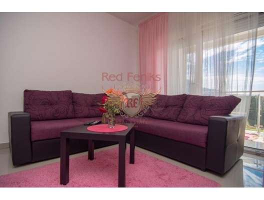 Beautiful two Bedroom Apartment in Bar, sea view apartment for sale in Montenegro, buy apartment in Bar, house in Region Bar and Ulcinj buy