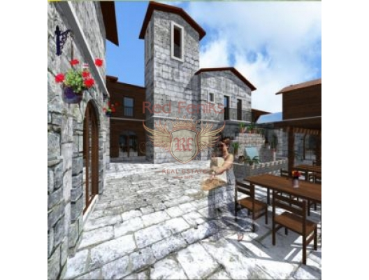 Eco-Village. Investment Project, property in Montenegro, hotel for Sale in Montenegro
