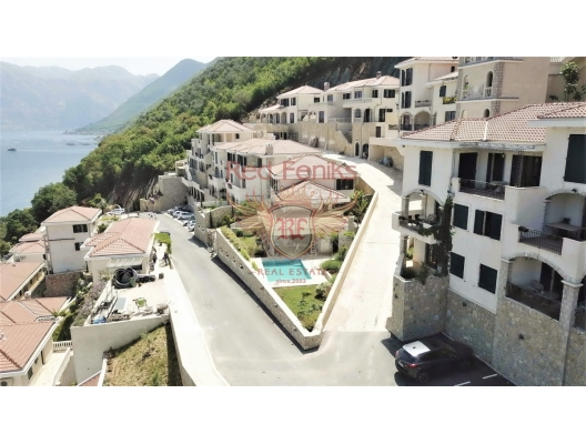 Apartments and Villas in a modern complex on the first line in Kostanica, apartments in Montenegro, apartments with high rental potential in Montenegro buy, apartments in Montenegro buy