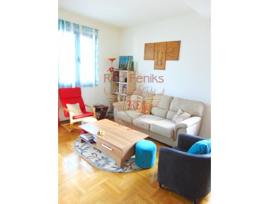 Budva'da Tek Yatak Odalı Daire 1+1, Karadağ satılık evler, Karadağ da satılık daire, Karadağ da satılık daireler