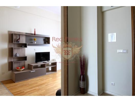 Otel konseptli apart daireler Budva, Karadağ'da garantili kira geliri olan yatırım, Becici da Satılık Konut, Becici da satılık yatırımlık ev